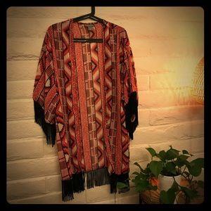 Print kimono